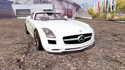 Mercedes-Benz SLS 63 AMG (C197) for Farming Simulator 2013