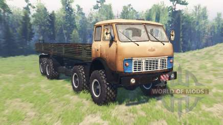MAZ 8x8 515Р v2.1 for Spin Tires