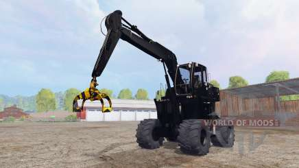 Liebherr A900C logging v4.0 for Farming Simulator 2015