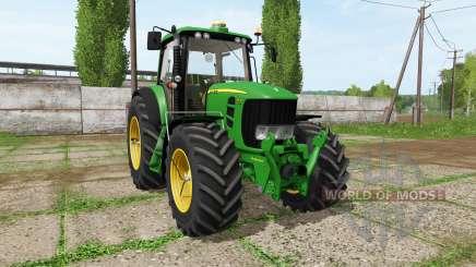 John Deere 7530 for Farming Simulator 2017