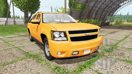Chevrolet Avalanche (GMT900) for Farming Simulator 2017
