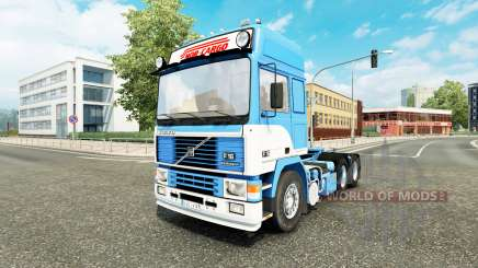 Volvo F16 Nor-Cargo v1.1 for Euro Truck Simulator 2