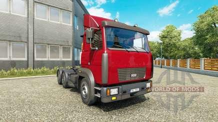 MAZ 6422М v1.1 for Euro Truck Simulator 2