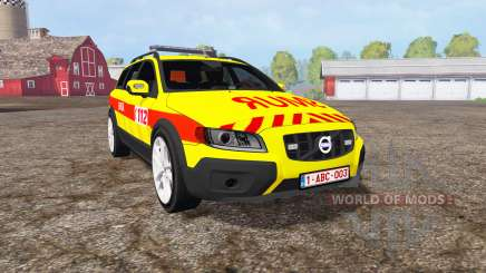 Volvo XC70 D5 SMUR for Farming Simulator 2015