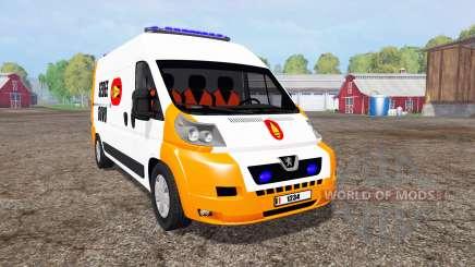 Peugeot Boxer Sedee-Dovo for Farming Simulator 2015
