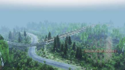 Mixed forest 2 v2.0 for Spin Tires