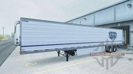 Skin Uncle D Logistics reefer trailer for American Truck Simulator