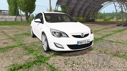 Opel Astra (J) for Farming Simulator 2017