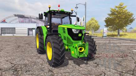 John Deere 6150R v2.0 for Farming Simulator 2013