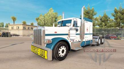 The Uncle D Logistics skin for the truck Peterbilt 389 for American Truck Simulator