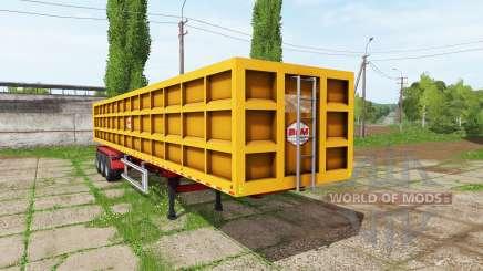 BsM tipper semitrailer for Farming Simulator 2017