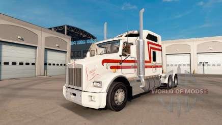 Skin Trans-Scotti on tractor Kenworth T800 for American Truck Simulator