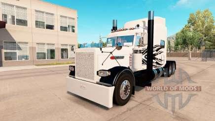 Simple Flames skin for the truck Peterbilt 389 for American Truck Simulator