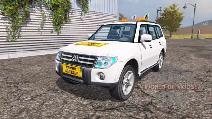 Mitsubishi Montero v2.0 for Farming Simulator 2013