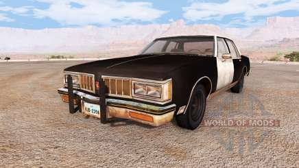 Oldsmobile Delta 88 highway patrol retired for BeamNG Drive