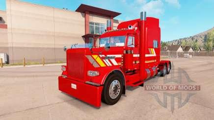 Skin Custom Heavy Haul for the truck Peterbilt 389 for American Truck Simulator