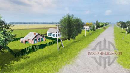 Kolkhoz Druzhba for Farming Simulator 2013