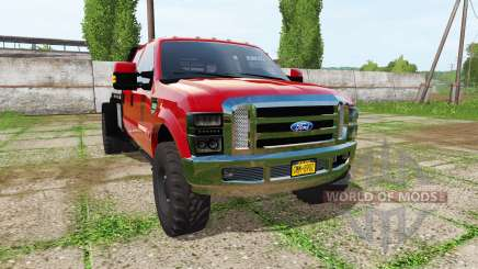 Ford F-350 flatdeck for Farming Simulator 2017