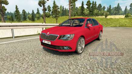 Skoda Superb for Euro Truck Simulator 2