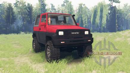 Daihatsu Feroza F300 v1.03 for Spin Tires