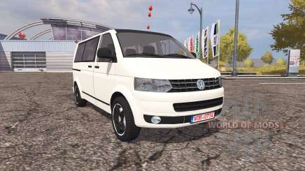 Volkswagen Transporter (T5) v2.0 for Farming Simulator 2013