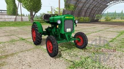 Deutz F1 M414 for Farming Simulator 2017