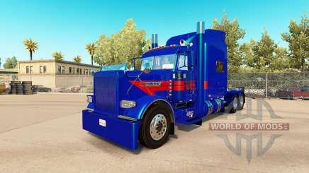 Jarco Transport skin for the truck Peterbilt 389 for American Truck Simulator