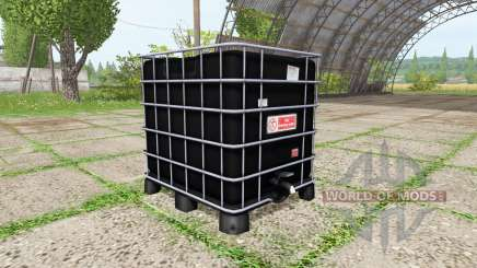 AUER Packaging IBC container water for Farming Simulator 2017