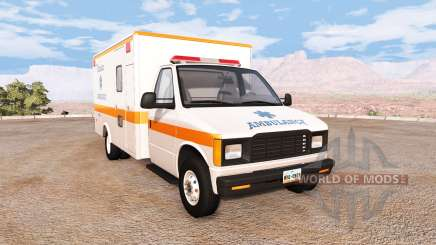 Gavril H-Series ashland city ambulance v2.0 for BeamNG Drive
