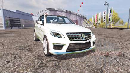 Mercedes-Benz ML 63 AMG (W166) v1.1 for Farming Simulator 2013