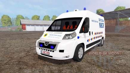 Peugeot Boxer NBCR for Farming Simulator 2015