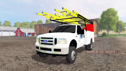 Ford F-250 2005 utility for Farming Simulator 2015