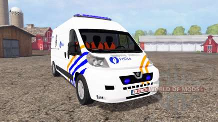 Peugeot Boxer Police for Farming Simulator 2015