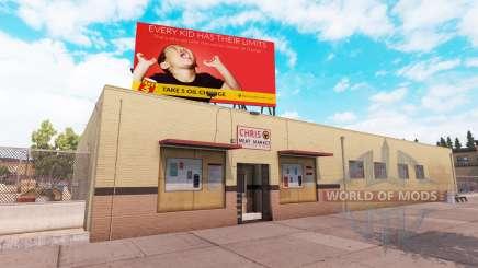 Real billboards v2.0 for American Truck Simulator