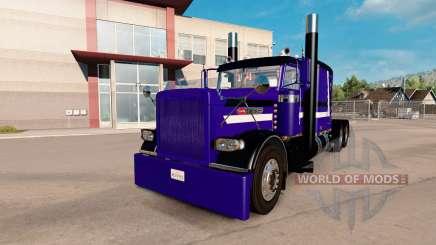 Purple Rain skin for the truck Peterbilt 389 for American Truck Simulator