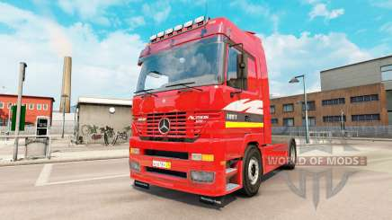 Mercedes-Benz Actros MP1 v2.5 for Euro Truck Simulator 2