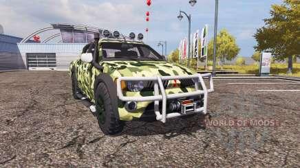 Mitsubishi L200 Triton v2.0 for Farming Simulator 2013