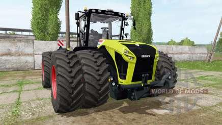 CLAAS Xerion 5000 v1.1.7 for Farming Simulator 2017