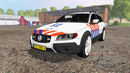 Volvo XC70 D5 Politie for Farming Simulator 2015