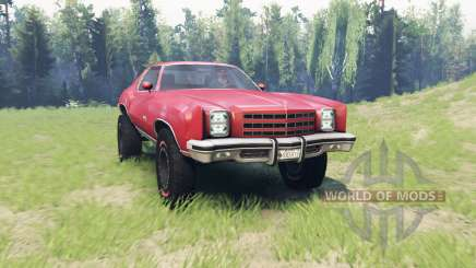 Chevrolet Monte Carlo 1977 for Spin Tires