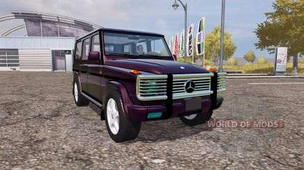 Mercedes-Benz G500 (W463) for Farming Simulator 2013