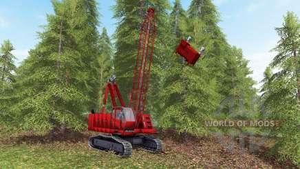Skyline yarder for Farming Simulator 2017