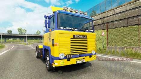 Scania 111 v2.0 for Euro Truck Simulator 2