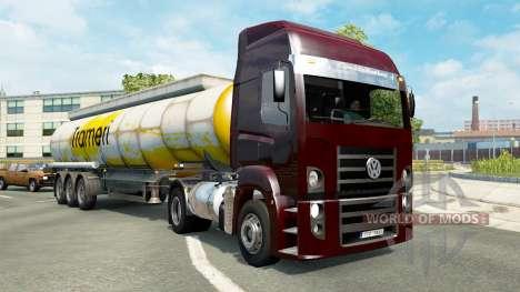 Brazilian traffic v1.3.2 for Euro Truck Simulator 2