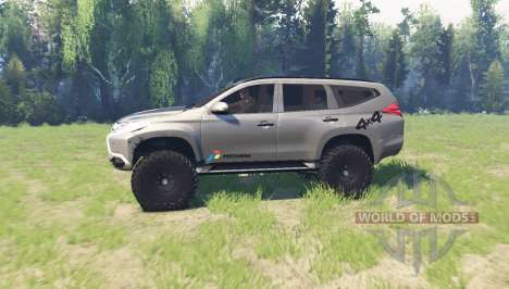 Mitsubishi Pajero Sport for Spin Tires