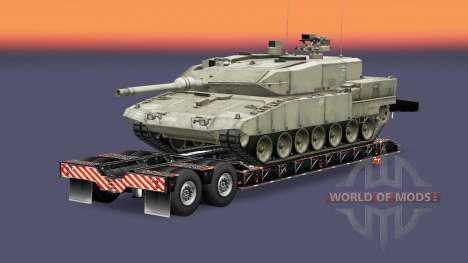 Military cargo pack v1.7.2 for Euro Truck Simulator 2