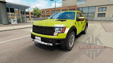Ford F-150 SVT Raptor v1.6 for Euro Truck Simulator 2