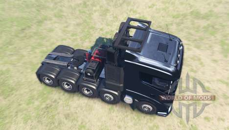 Scania R1000 for Spin Tires