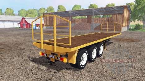 Bale trailer for Farming Simulator 2015