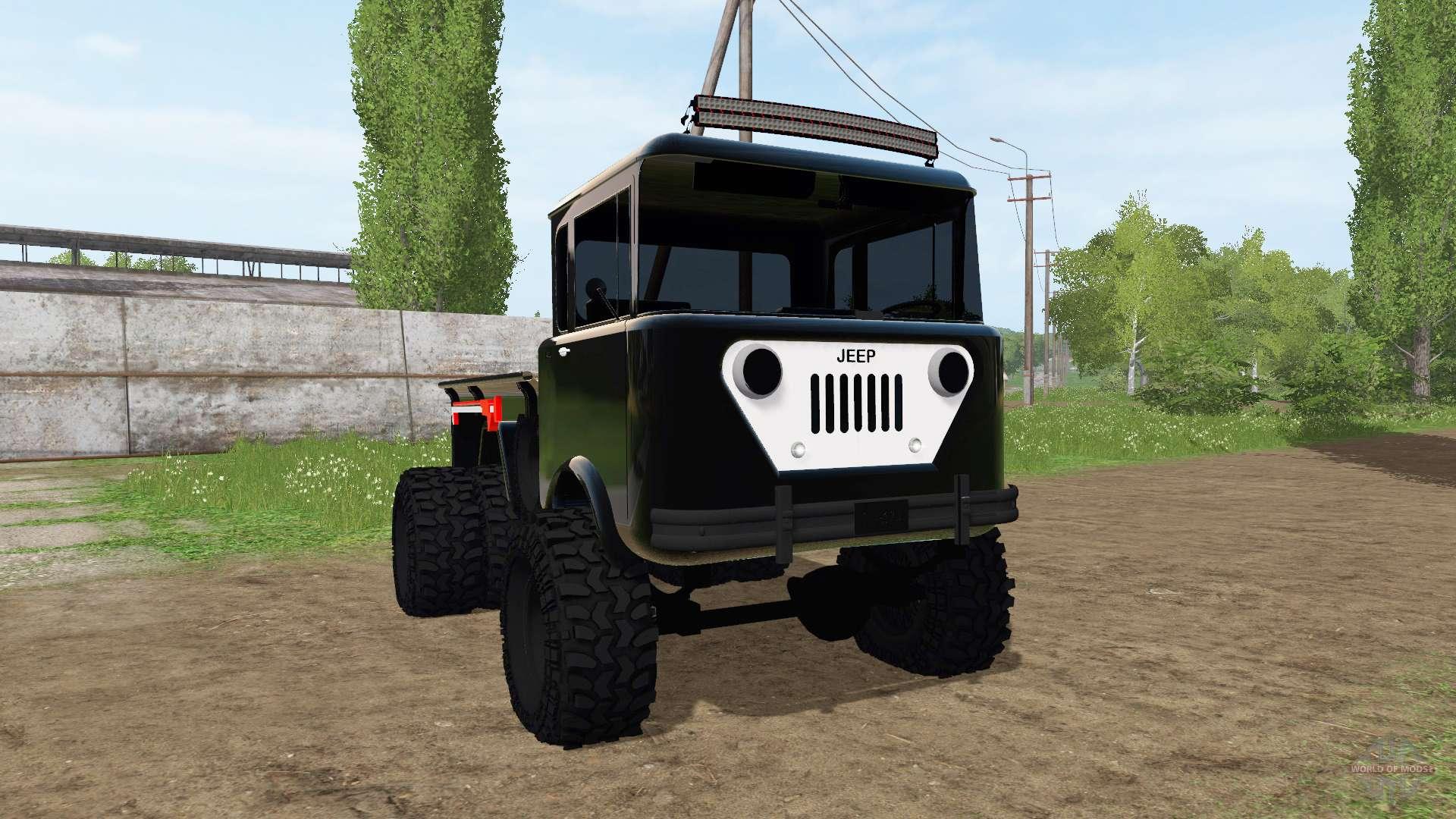 DAISY S JEEP V - Farming simulator modification